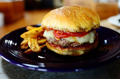 Pepperoni Pizza Burgers